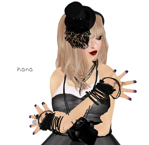 *pulcino*Grass tattoo nail (pink)<REZ ME!!