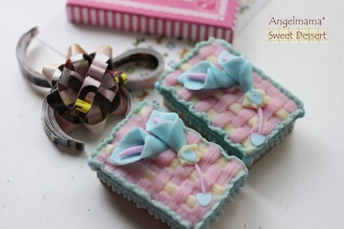 天使媽媽蛋糕模 077