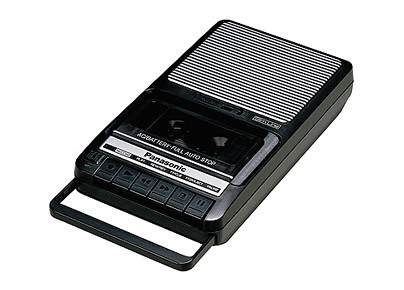 tape recorder