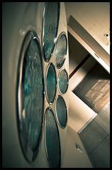Useless surgery (Florian Eymard) Tags: blue urban abandoned lamp hospital nikon place decay surgery urbanexploration exploration urbex d60 abandonedplace abandonedhospital surgicallamp