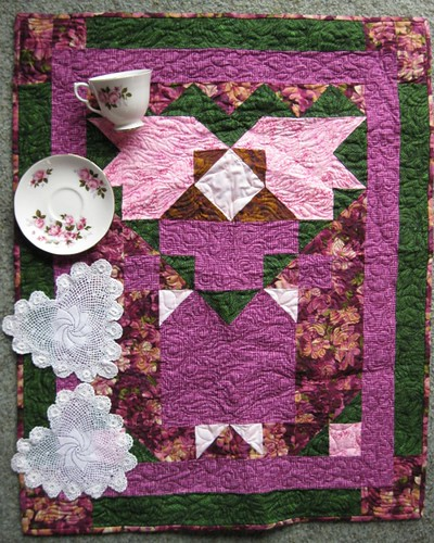 Quilt and vintage pretties