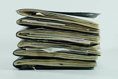 More Sketchbooks (Sage Brown) Tags: brown moleskine collage pen pencil notebook journal sketchbook sage process
