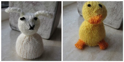 Mini reversible Duck & Bunny