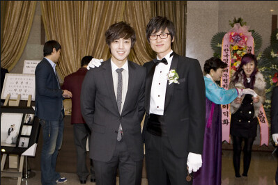Kim Hyun Joong Attended A Wedding Ceremony