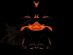 Burning Face Mask Symmetry  149 (Witlessandtitless) Tags: fire living faces spooky flame exotic mysterious symmetrical ghosts plasma monsters elegant sculptures beings demons swirling elemental shrouds spectres majestical flames1