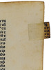 Detail of tab from Avicenna: Canon Medicinae
