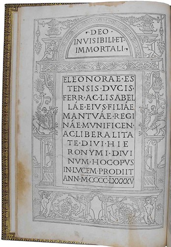Variant page in Hieronymus: Epistolae