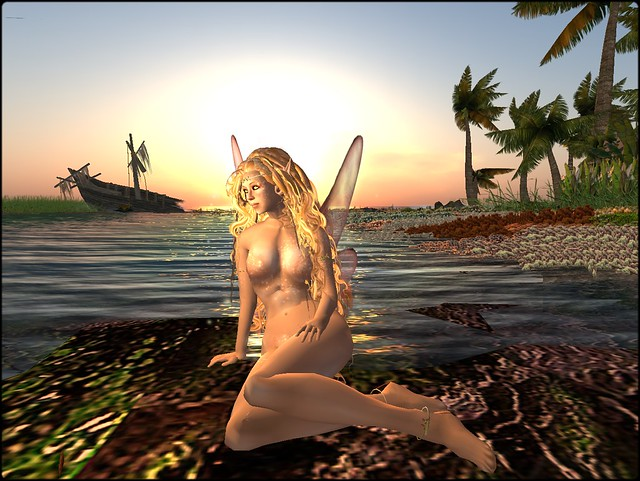 the fae in the beach