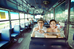 (Appleping) Tags: bus love apple thailand           bongkok