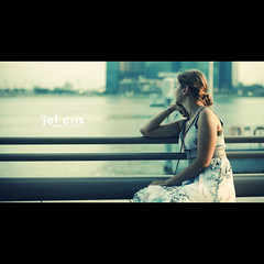 Time Traveler's Wife (jef cris) Tags: sunset people woman canon 50mm singapore dof bokeh candid strangers explore esplanade cinematic goldenhour marinabay explored thetimetravellerswife jefcris