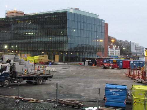 The construction of the new concert hall in Stavanger