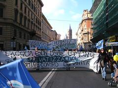 Rom 26.3.2011.: Demonstration zum Referendum gegen die Wasserprivatisierung