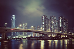 (d3sign) Tags: city bridge night hongkong cityscape sigma dp2 gettyimageshongkongmacauq2