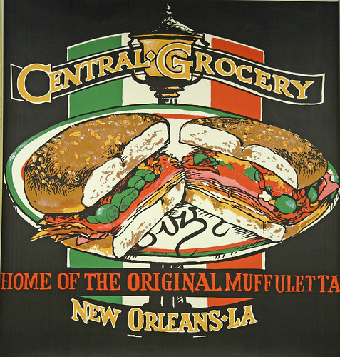 Great place for a Muffuletta sandwich, New Orleans
