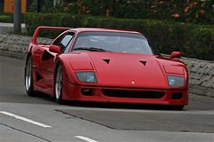 Ferrari,  F40, Hong Kong (Daryl Chapman Photography) Tags: china red classic race speed canon hongkong amazing italian power ferrari racing special 7d stunning sar f40 smd taimeituk tmt 18135mm worldcars sundaymorningdrive