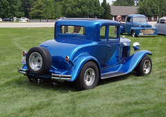 1931 Chevrolet 5-Window Coupe (5 of 6) (myoldpostcards) Tags: auto cars chevrolet car 1931 illinois route66 classiccar vintagecar automobile gm antiquecar tail il chevy wilber rod annual autos 11th custom oldcar coupe sherman taillights streetrod taillight owner rearend backend generalmotors 2door eleventh motorvehicle 5window 7514 collectiblecar 50snight myoldpostcards vonliski tomwilber pattiwilber raysroute66familydiner july52014