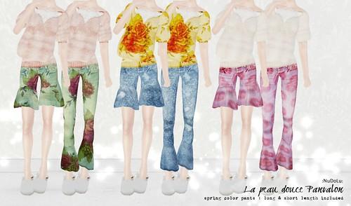 La peau douce Pantalon all colors AD