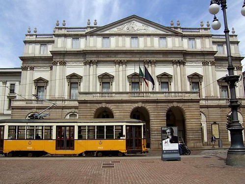 famous theatre in Milan