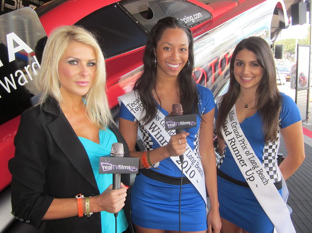Jennifer Lexon, Alyssa Meeks, Miss Tecate Toyota Grand Prix of Long Beach