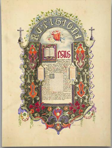 027- L'album du moyen-âge 1836- Jean Midolle