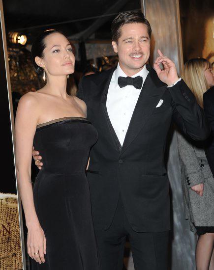 Angelina Jolie & Brad Pitt by al7n6awi