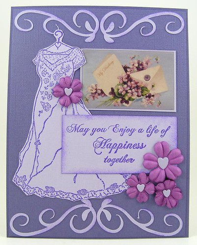 IO Purple Happiness Card