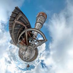 Wings of steel! (geopalstudio) Tags: panorama 360 8mm hdr samyang kremikovci littleplanet promoteremotecontrol
