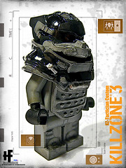 "HAZEL-FANTASY x ORRANGE"" Custom KZ-Tactican Custom Minifigs (HAZE-1/4cm) Tags: japan design amazing hand lego parts system made weapon production nightmare minifigs custom armory product gears accessory killzone3 hazelfantasy kztactican"