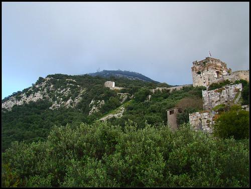 Peñón y Castillo del Moro