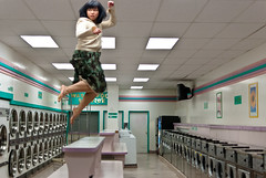 Jumpology (Keoki Seu) Tags: sanfrancisco california usa delete10 jump jumping save2 fav20 explore laundromat fav30 annamarie fav10 jumpology explored deletedbythehotboxuncensoredgroup hbus2d10 dspw042011 fndnc dsps042011