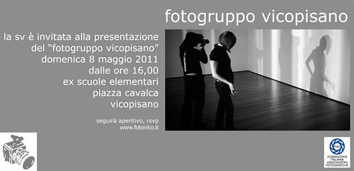invito inaugurazione Fotogruppo Vicopisano by Madmilox