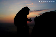 SEA02 (ektphoto) Tags: ocean sunset sea bali cloud beach silhouette indonesia atardecer monkey mono mar asia surf sony 2006 surfing uluwatu p32 silueta southeast dsc nube ola oceano ilunabar itsaso ekt olatu hodei tximino ozeano itsao ektphotos