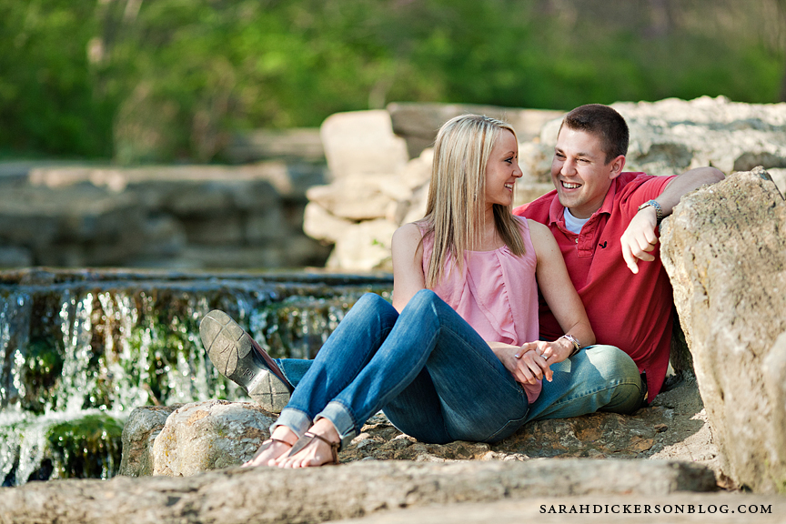Briarcliff Kansas City engagement photographers