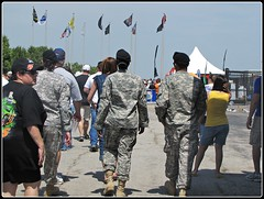 U.S. Armed Services Men & Women (libraryrivergirl) Tags: texas nascar airforce fortworth texasmotorspeedway samsungmobile500