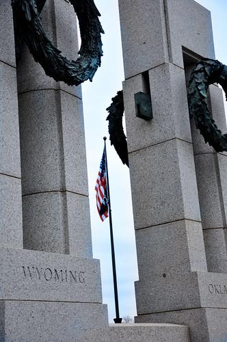 WW II monument