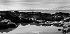 Rugged Coast (OnlyDanBrown) Tags: sea water rock stone coast jagged rugged