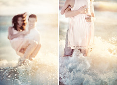 Kenji + Natalie (Ryan David Ahern | www.ahern.com.au) Tags: wedding sunset love beach couple perth proposal