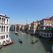 Canal Grande seen from Ponte di Rialto