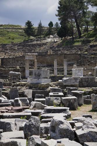 Ruins at Kamiros