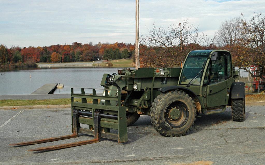 Marine Corps SkyTrak MMV Forklift