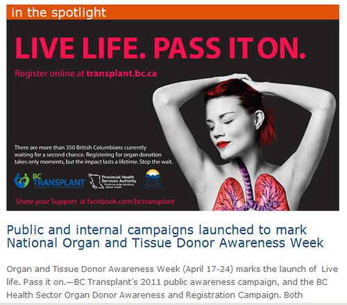 Organ & Tissue Donor Awareness Week