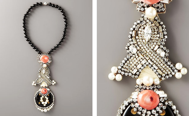 RANJANA KHAN Flamingo Pendant Necklace