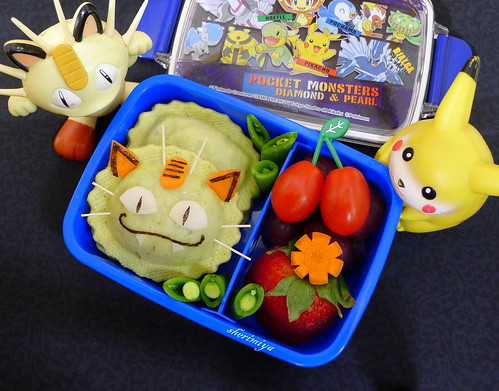 Meowth Pokemon Bento by sherimiya ♥