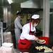 Serving dumplings