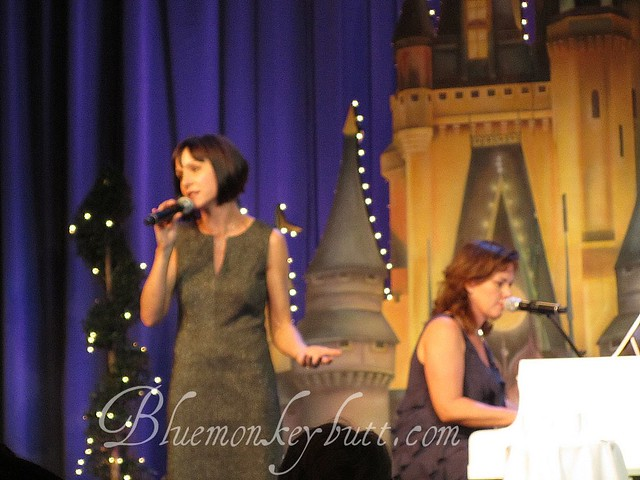 Susan Egan and Georgia Stitt at Disney Social Media Moms