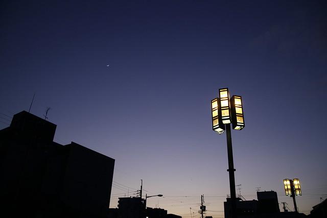 TAMRON A09 手持ち夜景