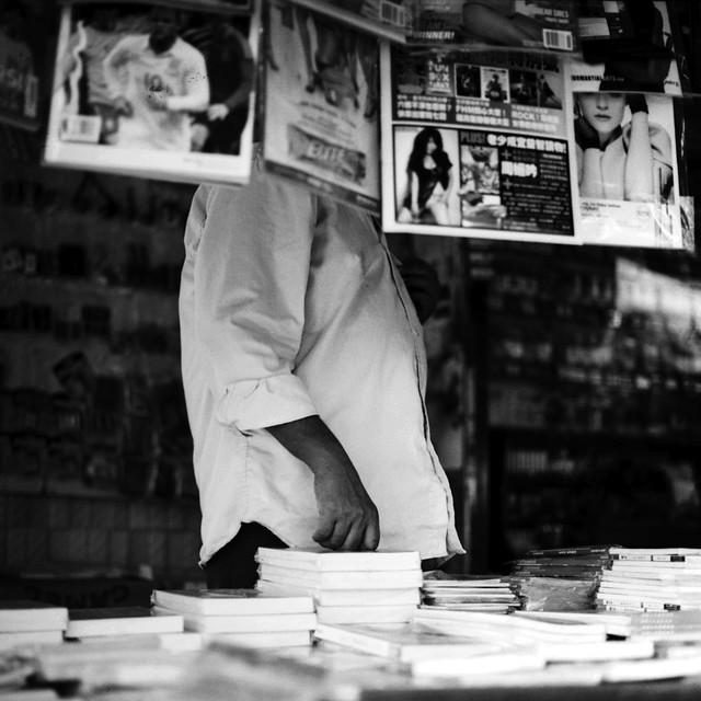 News Vendor at Potong Pasir