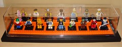 LEGO Collectible Minifigures Series 4 (notenoughbricks) Tags: werewolf gnome artist lego surfer punkrocker frankenstein sailor viking skateboarder madscientist hockeyplayer cmf figureskater soccerplayer geishagirl muskateer series4 hazmatguy legocollectibleminifiguresseries4