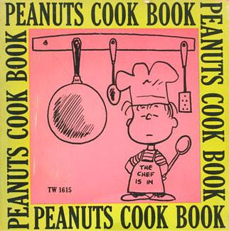 Peanuts Cook Book cookbook cover