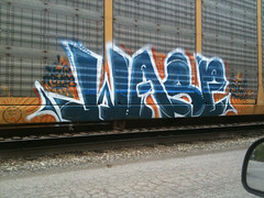 Wasp (HOODED NINJA-) Tags: graffiti wasp kentucky crew louisville graff scallywags syw